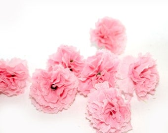 Baby Pink Carnations - 25 count - Artificial Flowers