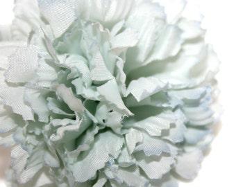 1 Baby Blue Carnation