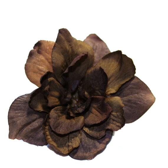 3 Milk Chocolate Delphinium Blossoms - PRE-ORDER