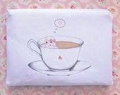 Teacup Zipper Wallet
