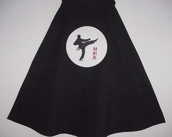 Child's Karate Martial Arts Cape Costume