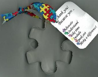 Puzzle Piece Cookie Cutter Autism Awareness