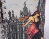 Dancing Down the Street Mixed Art Journal.