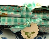 FINAL SALE Inspire Me Bundle of Green Hues Vintage Fabrics
