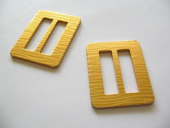 Set of Two Vintage Belt Buckles