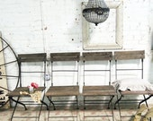 Painted Cottage Chic Shabby Farmhouse Chairs CH220 - paintedcottages
