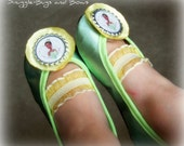 Princess Tiana BABY Shoes (Sizes 1 - 5) MEASURE your child's foot PLEASE