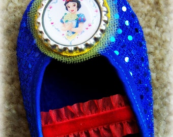 Snow White Play Shoes (Toddler sizes 6 -12) MEASURE your child's foot PLEASE