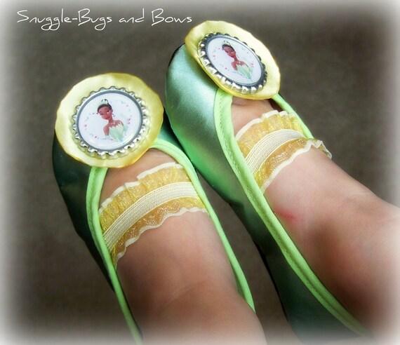 Princess Tiana Shoes: Princess Tiana BABY Play Shoes Sizes 1 5 By SnuggleBugsAndBows