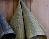 Cabin Series - Pine design Hand Towels in Sunshine