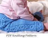 PDF Knitting Pattern - Butt Knits Hugs n Kisses Longies/Shorties