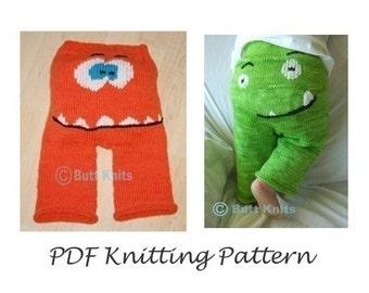 PDF Pattern - Monster Faces Bundle