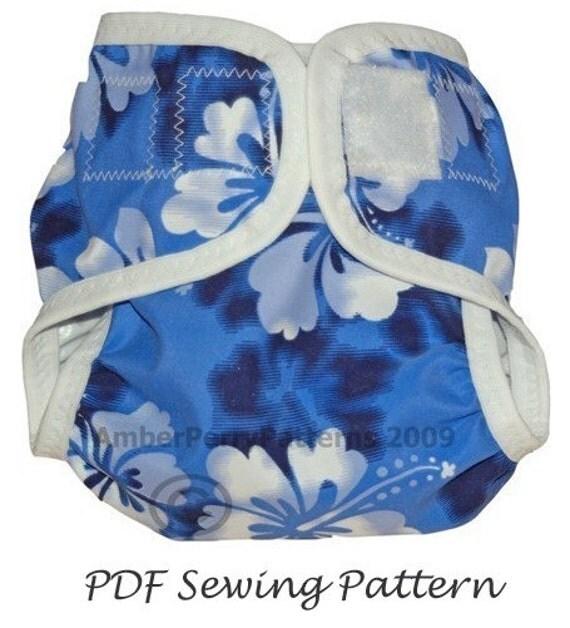 PDF Pattern - Diaper Cover Pattern