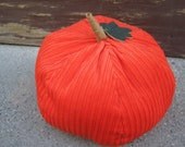 Corduroy Pumpkin - large