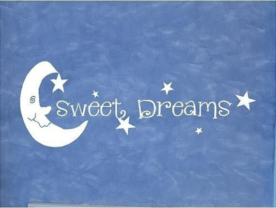 Moon And Stars Quotes: Items Similar To VINYL QUOTE