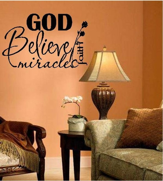 Gods Miracles Quotes: Quote-God Believe Miracles Faith-special Buy Any 2 By