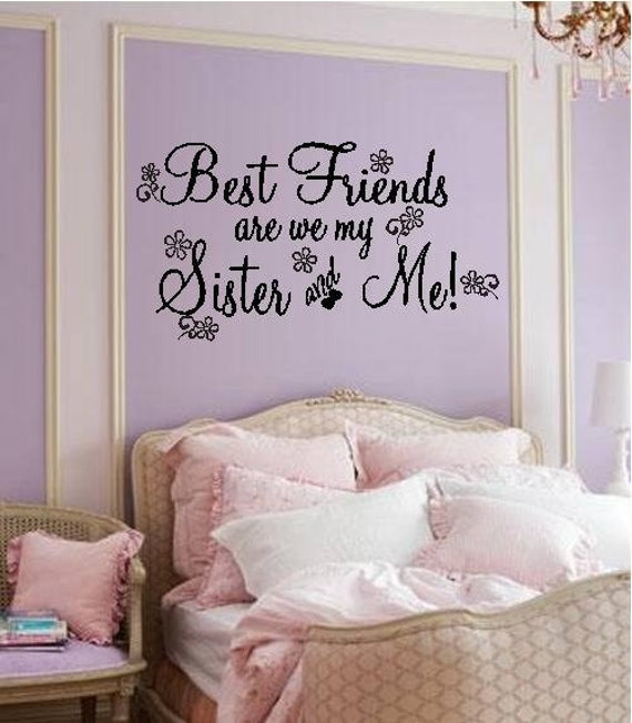 Bestfriends More Like Sister Quotes: Items Similar To Quote-Best Friends Are We My Sister And