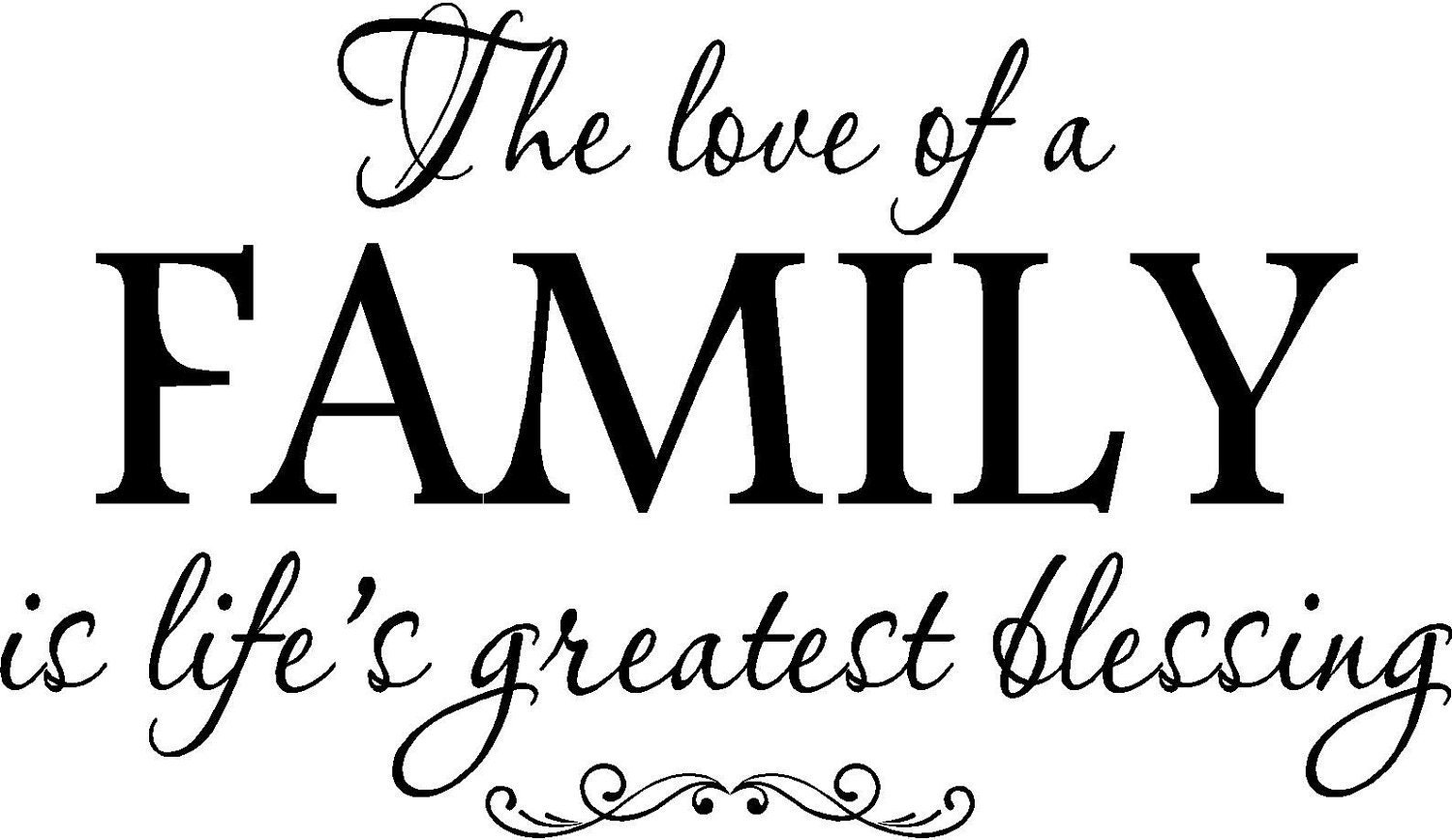 Family Love Quotes And Sayings