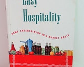 RESERVED FOR CLREW2  Coca-Cola 1951 Easy Hospitality Vintage Cookbook