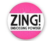 Zing Embossing Powder - Fluorescent Neon Pink