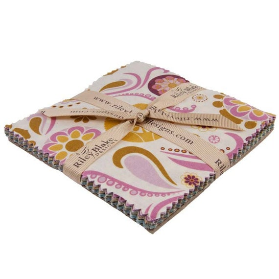 So Sophie Fabric Charm Pack by Riley Blake Designs