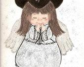 Praying Cowgirl Angel