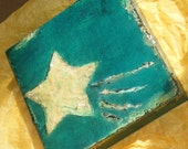 Shooting Star- Original Mixed Media Painting