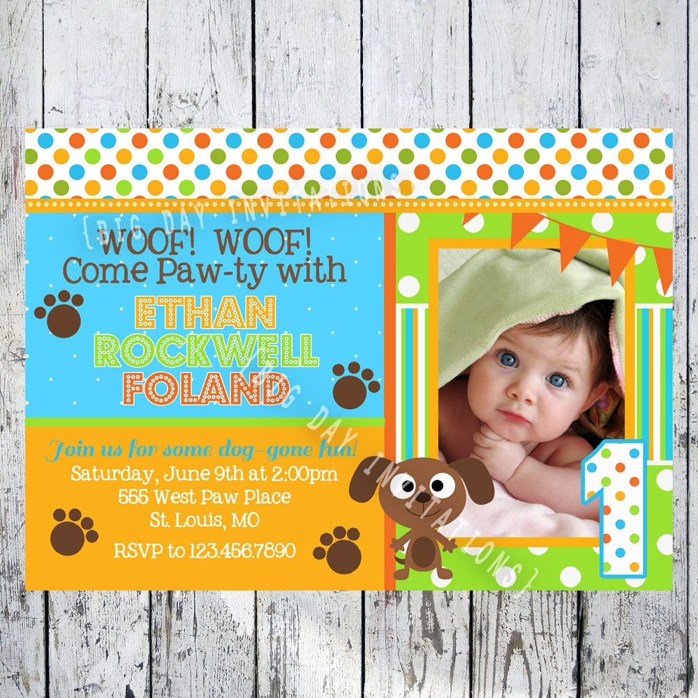 Puppy Party Invitations as great invitation design
