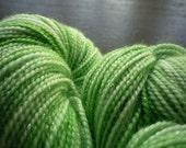 Bittersweet Woolery Star Dust Sparkle Sock Yarn in WHIRLED PEAS