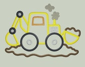 Bulldozer Excavator Construction Vehicle Applique Design