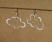 cloud earring - Sterling Silver