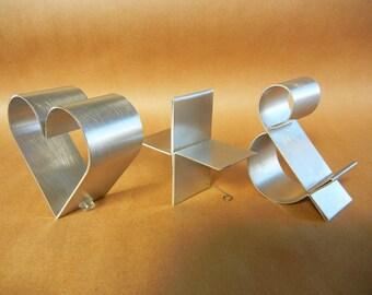 "Metal symbols freestanding-Empire 4"""