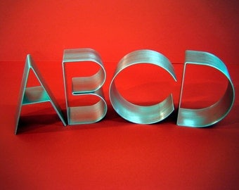 """Metal letters freestanding large-Empire 6"""""""