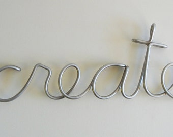 create aluminum metal sign