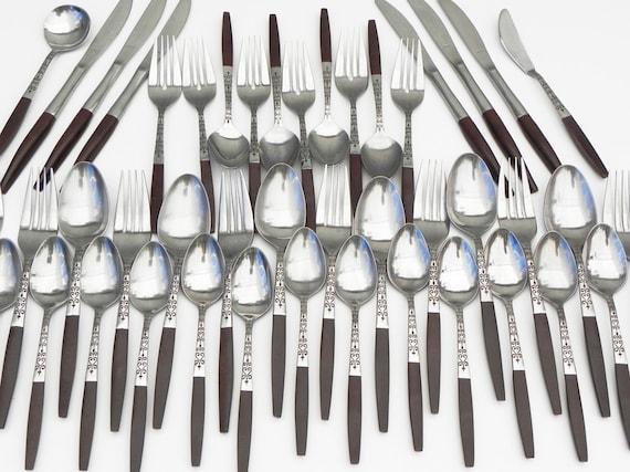 lot of 44 Interpur flatware