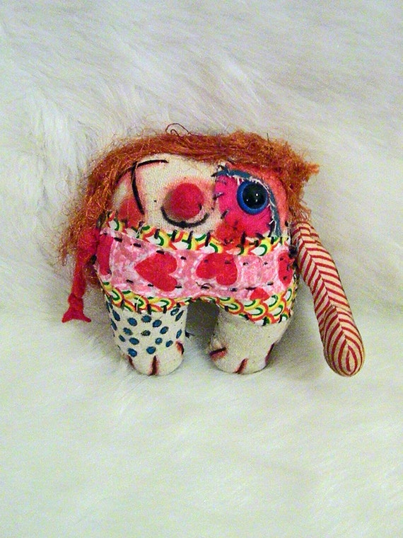 SALE- Alfie the Ratty Tatty Monster