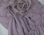 Fabric ROSE brooch by Fariytale13