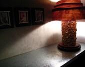 BAMBOO MOSAIC LAMP