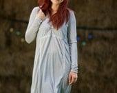 Diva V-neck longsleeved cotton Muse dress
