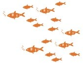 Fish Kids Wall Decals - also Nursery Wall Decals