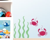 Crab Kids Wall Decals