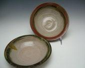 Wheel Thrown Stoneware Bowl Duo