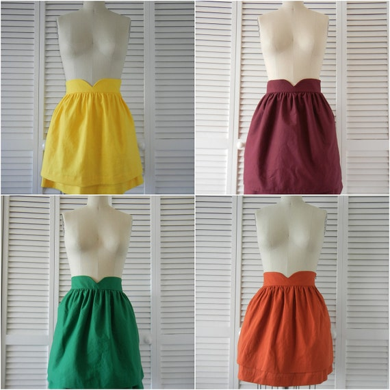 Request a Color!  Heart-Shaped Waistband Skirt