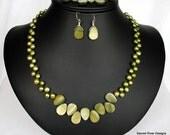 Irish Tears Necklace, Bracelet and Earrings