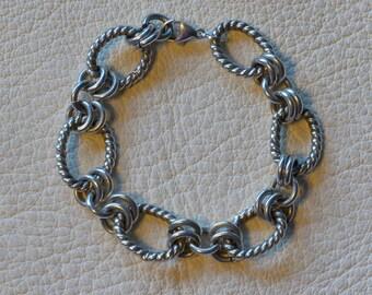 Thick Link Bracelet