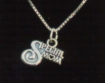 Special Mom Sterling Silver Pendant