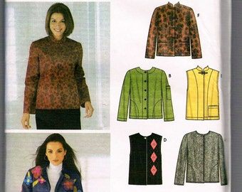 Simplicity 6madeeasy Sewing Pattern Ladies Jacket Vest FREE SHIPPING