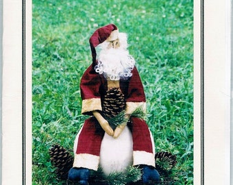 Santa's Harvest Primitive Sewing Pattern 202..FREE SHIPPING