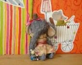 5 inch Clown Elephant Girl by Sasha Pokrass for Kristen