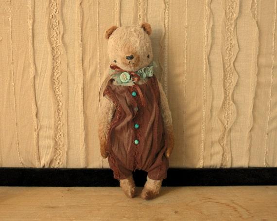 NEW PDF E-PATTERN for 9 inch Artist Mohair Handmade Teddy Panda Bear by Sasha Pokrass